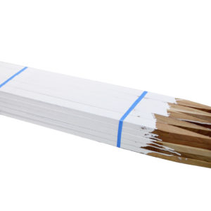 Painted Hardwood Stakes
